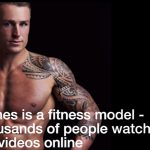 James Sutliff trener osobisty i fitness model [VIDEO]