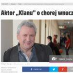 Andrzej Grabarczyk: moja wnuczka urodziła się z zespołem Downa